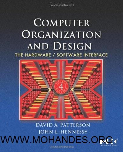 دانلود کتاب طراحی و معماری کامپیوتر پترسون